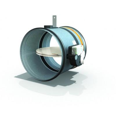 50.1 - Ronde brandklep EI60 tot EI120 (smeltlood 72°C)
