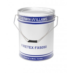 20.9 - Firetex staalcoating FX 5090 Watergedragen