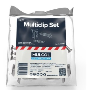 1.8 - Mulcol Multiclip set